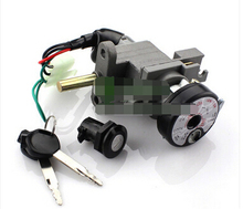 For fast eagle 125 sets of locks yue hawk 100 electric door lock motorcycle locks rib electric car lock