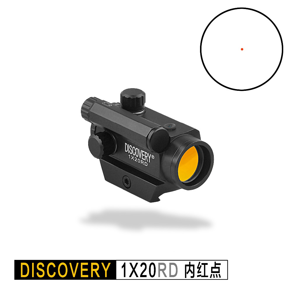 Discovery Mini Red Dot 1X20 RD Optical Sight Tactical Hunting Rifle Scope Collimator Sight Riflescope For Airsoft Rifles