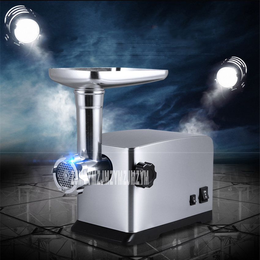 Household meat grinder electric stainless steel meat grinder multi - purpose smal-size garlic mud filling enema machine mp3 плеер fiio hi fi x5 iii титаниум page 7 page 9 page 3