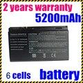 Jigu 6 celdas 4400 mah batería del ordenador portátil para acer extensa 5220 7220 TravelMate 5530 5520 5320 TM5720 TM7520 TM7720 TM00741 TM00751