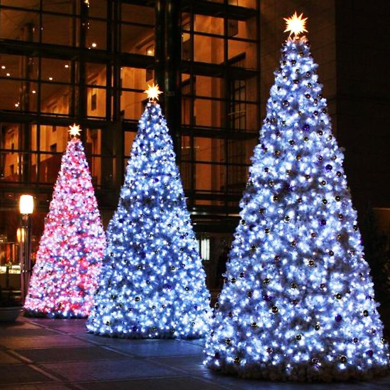 10m 100 leds xmas wedding decor christmas lights rgb outdoor string for new year garland 110v us plug led bulb fairy lighting in led string from lights - Christmas Light Flasher Plug