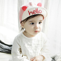 Fashion Pattern Baby Hats Unisex Girls Boys Baseball Caps Cartoon Hat Newborn Cotton Visor Hats Caps