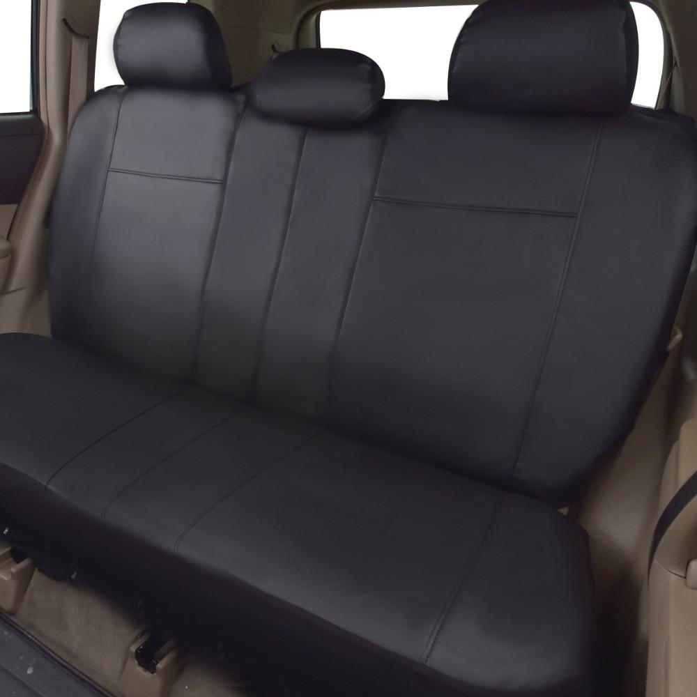 Högkvalitets PU Läder Bilstolsöverdrag Universal 8 färger Bilar - Bil interiör tillbehör - Foto 3