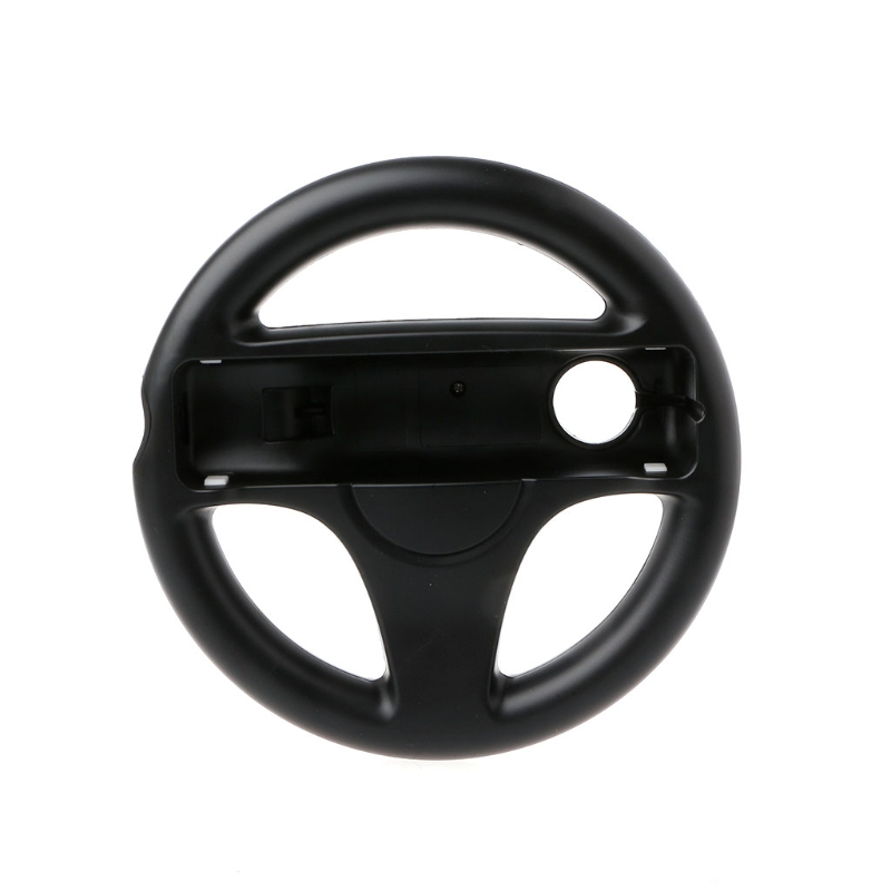 New Steering Wheel Controller Handle Holder Grip Kart Racing Game For Nintendo