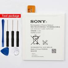 Original High Capacity AGPB012-A001 Phone Battery For Sony Xperia T2 Ultra D5303 D5306 D5322 XM50t XM50h 3000mAh смартфон sony xperia t2 ultra dual d5322 black