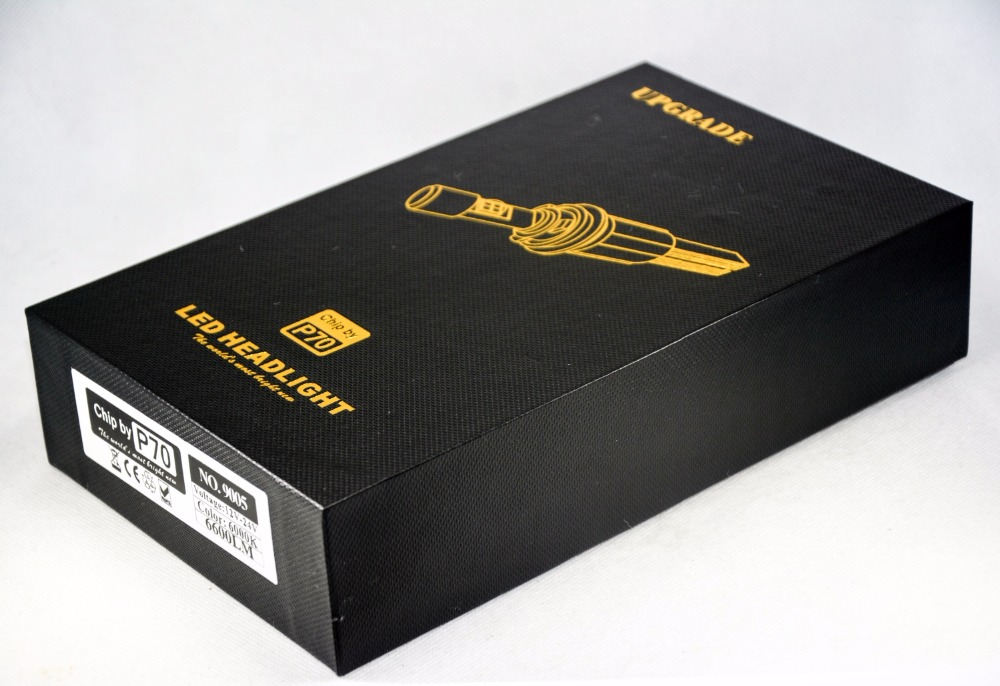 1 комплект P70 110W 13200LM 9005 HB3 / 9006 HB4 LED - Автомобилни светлини - Снимка 2