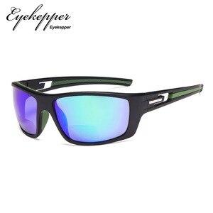 Image 2 - S066 Bifocal   Eyekepper Bifocal Sun Readers Reading Sunglasses for Sports TR90