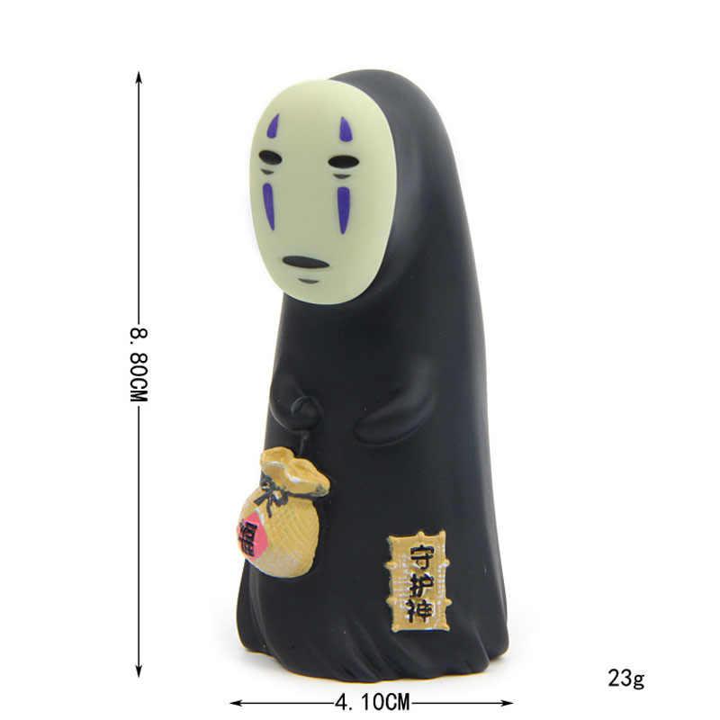 Japão anime spirited afastado sem rosto homem figura de ação brinquedo figuras estúdio ghibli hayao miyazaki desenhos animados kaonashi bonecas mamori kami