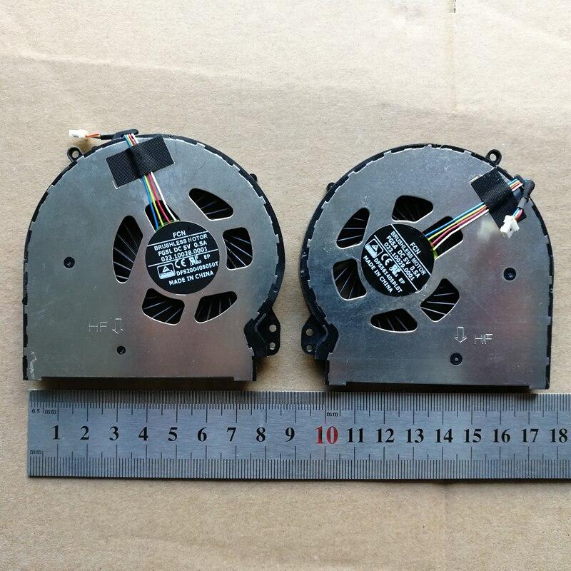 Nouvel ordinateur portable CPU + GPU ventilateur de refroidissement pour HP PRÉSAGE ENVY 15-5010NR 5000 Q001TX 5114TX 5113TX