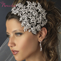 New Elegant Luxurious Wedding Bride Crown Women High-quality Hair Hoop Rhinestone Trees Shape Originality Bridal Hairband RE218