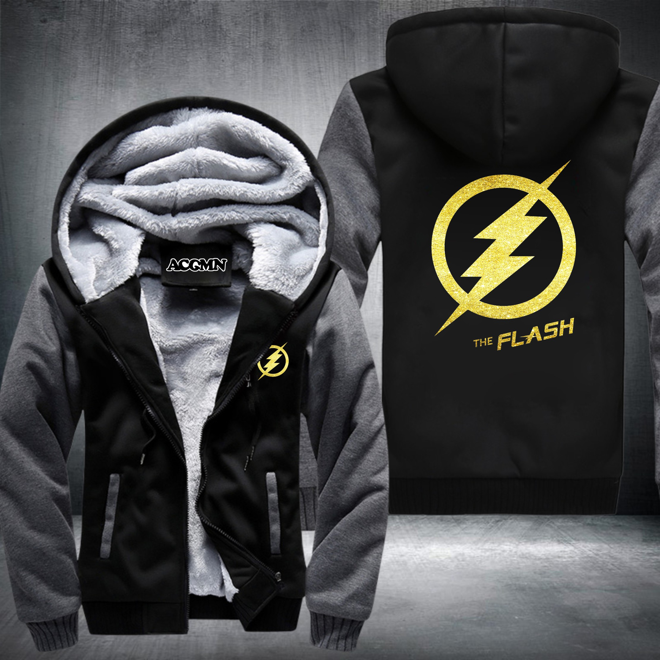 New Winter Jackets And Coats The Flash Hoodie Anime