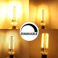 YWXLight 5 Packs 80LEDs Light Lamp G8 G4 GY6 35 E11 E12 E14 LED E17 BA15D