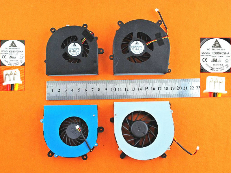 New Laptop Cooling CPU FAN for Terrans Force X511 X611 X711 X811,Clevo P151HM P150HM(a pair of fan ) BS6005MS-US4/BS6005MS-UOD original oem delta adp 330ab d 330w 19 5v 16 9a ac adapter for clevo terrans force x911 i7 4710mq 4700mq gaming laptop