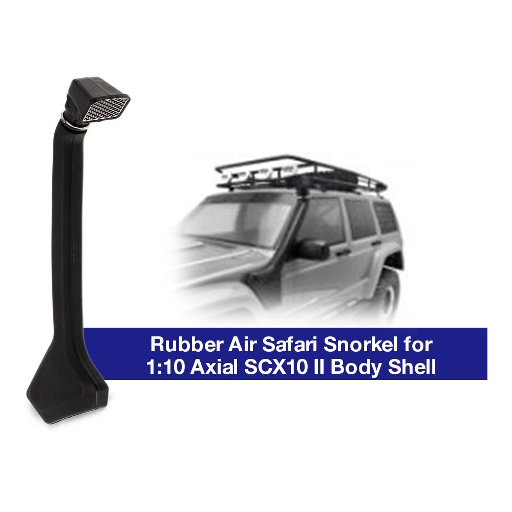 1:10 Rubber Air Safari Snorkel for Axial SCX10 II 90046 90047 Cherokee Body W8J9