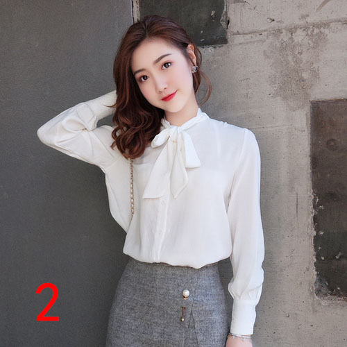 J51980 One Size Women Chiffon Shirt Casual Fashion Sweet Small Floral Printed Tshirt Factory direct wholesale