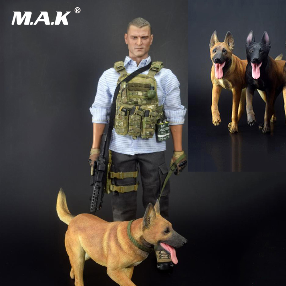 For Collection 1/6 Action Figure Scene Accesories TC-M9010 Malinois 2.0 Working Dog Figure Model for 12'' Actiob Figure цена