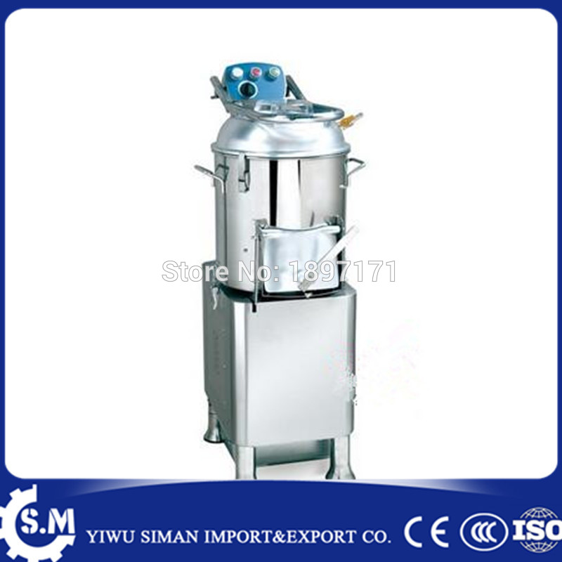 commercial 20L Multi-functional potato peeler and washer vegetable peeling machine Output Capacity 190kg/h