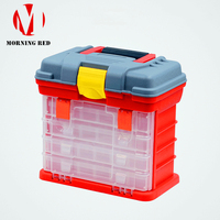 Lego Building Blocks Toys for Children Parts Plastic Storage Boxes Portable Drawer Tool Bins The New Listing Plumber Toolbox