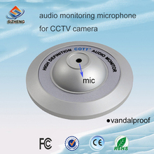 SIZHENG COTT-C4 Vandal proof CCTV audio microphone security accessories high sensitivity sound monitor for prisons