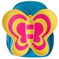 A prueba de agua 3D Mariposa de La Historieta Niños Mochila Para Niños Mochilas Escolares Bolsa de Hombro para Las Niñas mochila escolar 4 Colores