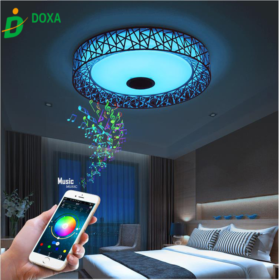 2017 Rgb Dimmable Bluetooth App Control Wireless Music