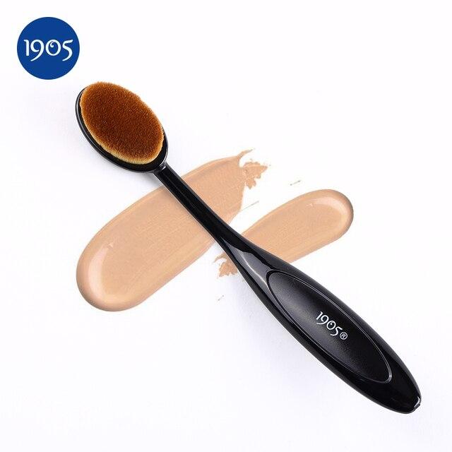 1905 Fundação make up Brush Set Kit Escova Oval-shaped BB Creme Blush Blending Pincel de Maquiagem Em Pó Sopro Beleza ferramentas