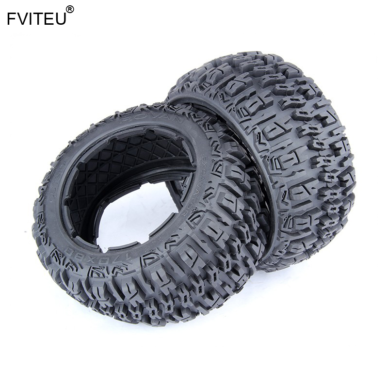FVITEU Rubber Rear Knobby Tire set Fit 1/5 HPI Baja 5B SS Rovan King MotorFVITEU Rubber Rear Knobby Tire set Fit 1/5 HPI Baja 5B SS Rovan King Motor