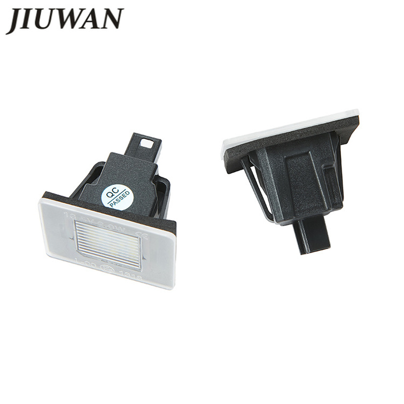 1 Pair Car LED License Plate Lights Error Free Play White Lamp For Mercedes Benz W117 W218 W176 W156 W166 R172 X166 accessories in Signal Lamp from Automobiles Motorcycles
