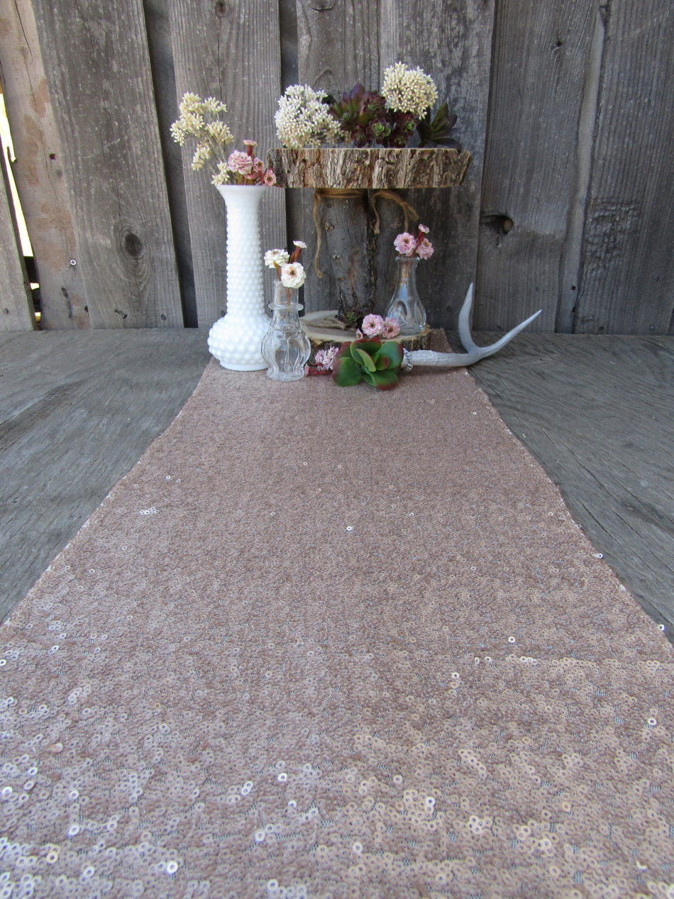 Wedding Party Glitter Champagne Carpets Decoration Mariage