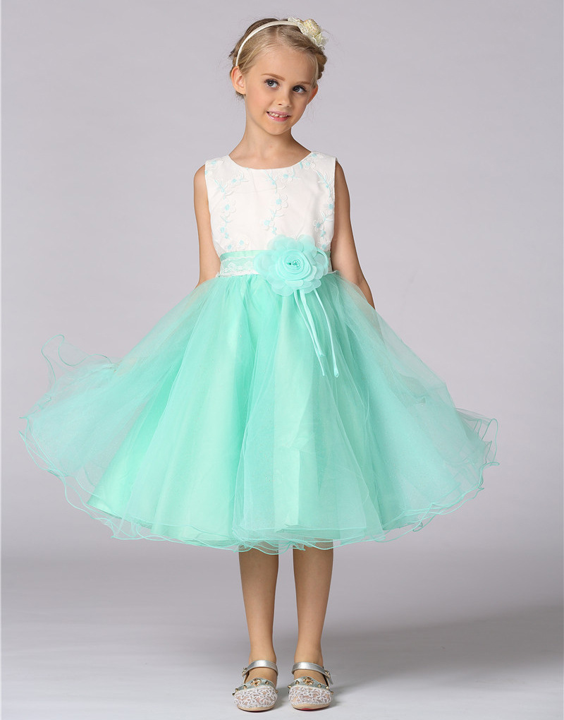 Children\'s Dresses For Girls Wedding Party Baby Girl Princess ...