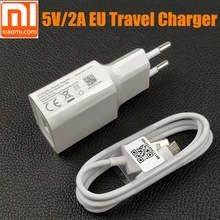 ФОТО original eu xiaomi redmi 5 plus charger for redmi 4x 4a note 5 4 5a 3 2 phone 5v/2a usb wall charger connect micro usb cable
