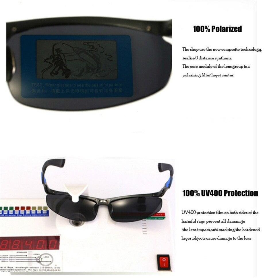 57d34ccdf25 Compre CAPONI Magnesio De Aluminio Polarizado Hombres Gafas De Sol ...