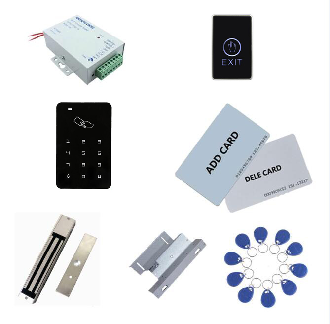 access controller kit ,power+280kg magnetic lock+280kg ZL-bracket + exit button+2 manage card,10 keyfob ID tags,sn:set-8 manage enterprise knowledge systematically