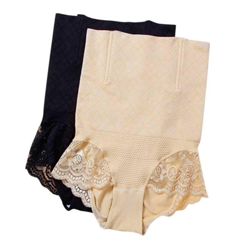 6943a7fed5 ... KLV M XL Womens Shapewear Seamless Briefs Butts Lifter High Waist Body  Shaper Panties Lingerie ...