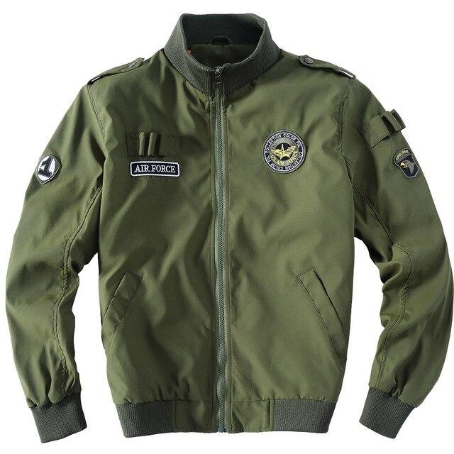 64ae874e65e Товар 77City Killer Bomber Jacket Men 2018 Autumn Winter Military ...