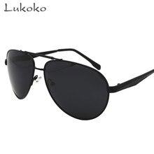 b6007b19c75 Lukoko Luxury Italy Brand HD Polarized Sunglasses Men Erkek Aviador Male  Fishing Glasses Polarized Men Gunes Gozlugu Ochki Ulo