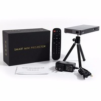 WiFi Mini Projektor Projektor DLP Home Biznes Edukacja Dla Android Bezprzewodowy Bluetooth HDMI/USB Teatr Projetor