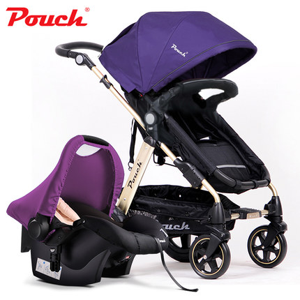 2018 Pouch baby strollers EU standard baby pram 3 in 1 0-36 months baby strollers carriage send free gifts Free shipping цены