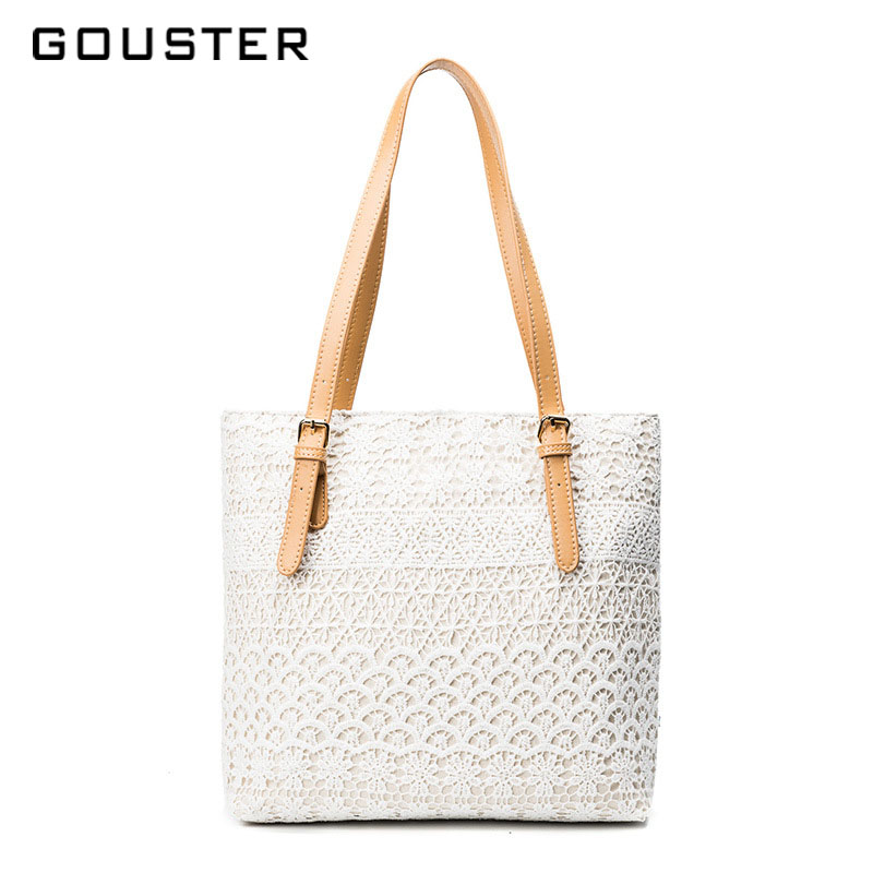 157fcbcea489b US $17.58 32% OFF|2018 New arrival Women Shoulder bag Trend Lace Tote  Holographic Female handbags Lady Floral Tote high quality Luxury Beach  bags-in ...