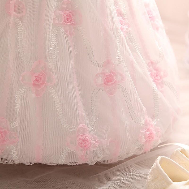 Newborn Birthday Dress (3)
