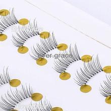 10 Pair Makeup Half Eye Lash Winged False Eyelahes Mini Lashes Corner Fake Eye Lashes Handmade