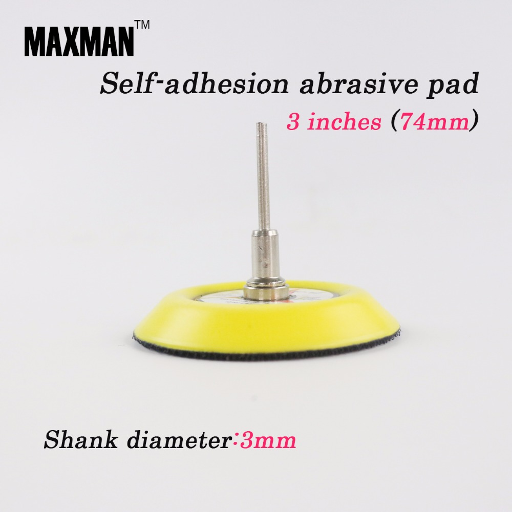 MAXMAN Masina cu disc de polizanta cu disc de 3 inci Garnitura - Instrumente abrazive - Fotografie 1