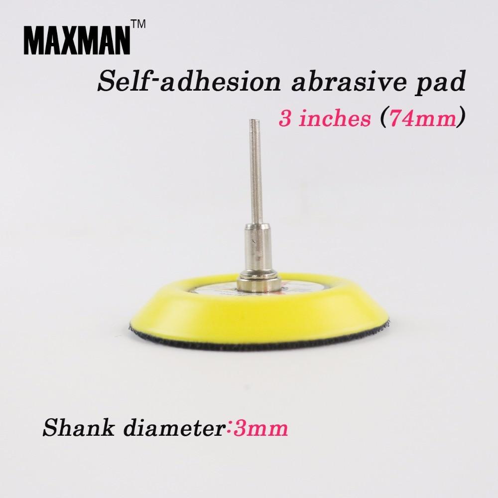 MAXMAN Disco de lijadora de 3 pulgadas Papel de lija Almohadilla - Herramientas abrasivas - foto 1