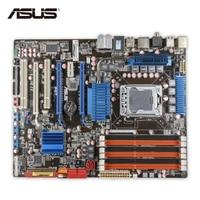 Original Used Asus P6T Desktop Motherboard X58 Socket LGA 1366 I7 DDR3 24G SATA2 USB2 0