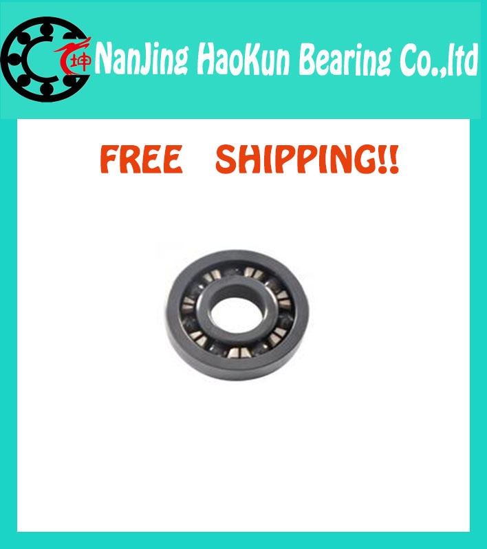 Free shipping high quality 6915 full SI3N4 ceramic deep groove ball bearing 75x105x16mm