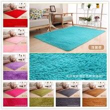 Alta gloria decoración de la casa salón carpet pura dormitorio felpudo alfombra del piso de felpa peluda