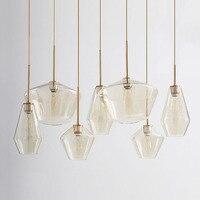 Moderne Anhänger Lichter Wohnzimmer Küche Lampe Glas Lampe Loft Anhänger Licht Master Schlafzimmer Lesen Kaffee Studie Decor Hanglamp-in Pendelleuchten aus Licht & Beleuchtung bei