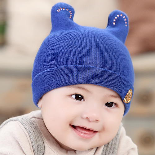 3-12 Month Korean Style Winter Baby Hats For Girls Boys High Quality Caps  For Girl Floral Letter Warm Straw Boy Hat Cap 208 d62814932a5