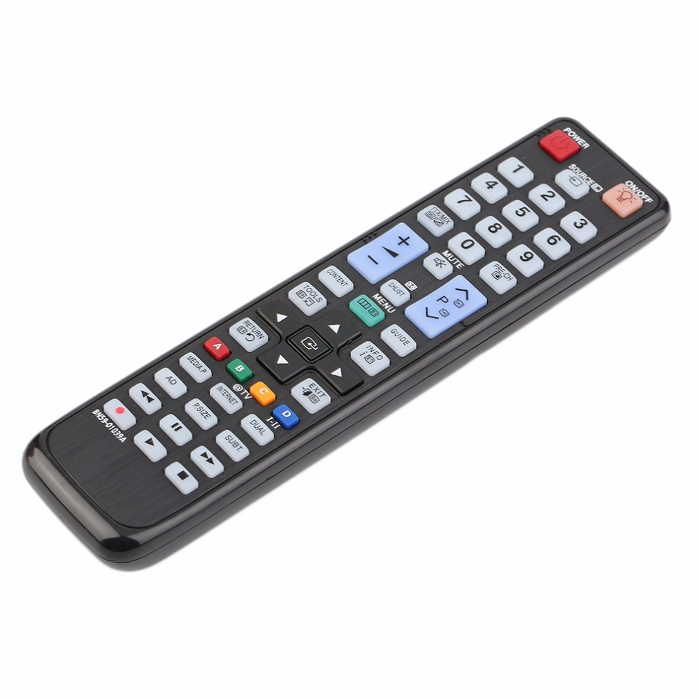 Black Plastic Perfect No Programming Required Replacement Remote Control For Samsung BN5 ...