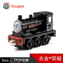 Diecast Metal Thomas and Friends Train One Piece DOUGLAS Megnetic Train Toy The Tank Engine Trackmaster Toy For Children Kids